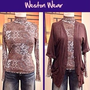 Weston Wear Long-Sleeved Top, Turtleneck